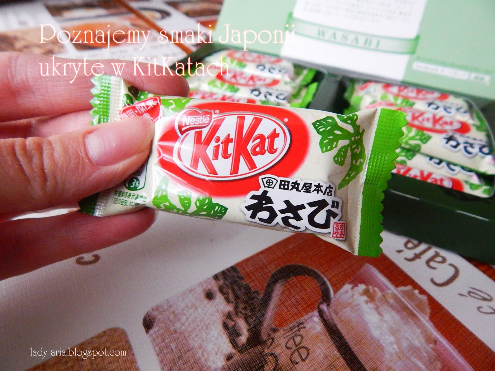 ~103 Poznajemy smaki Japonii ukryte w KitKatach