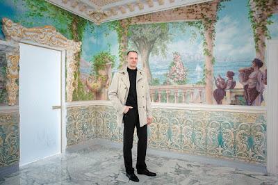 Фреска на стене - художники Волгограда Алексей Захаров