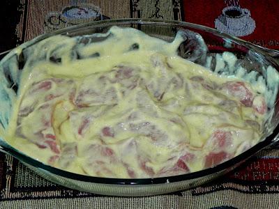 como fazer frango com iogurte