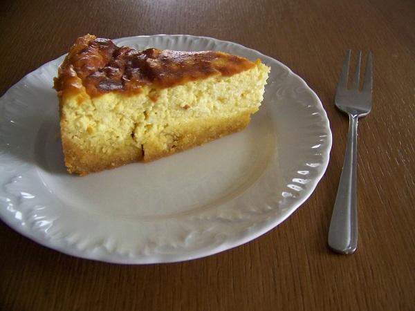 Wielkanocny sernik, dietetyczny, bez cukru i glutenu