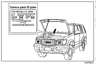 repair-manuals: Isuzu Trooper 1998-2002 Workshop Manual