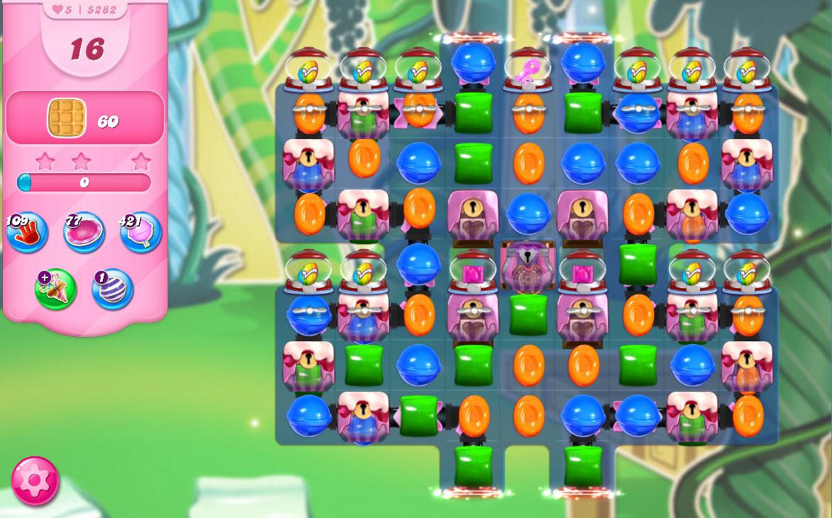 Candy Crush Saga level 5282