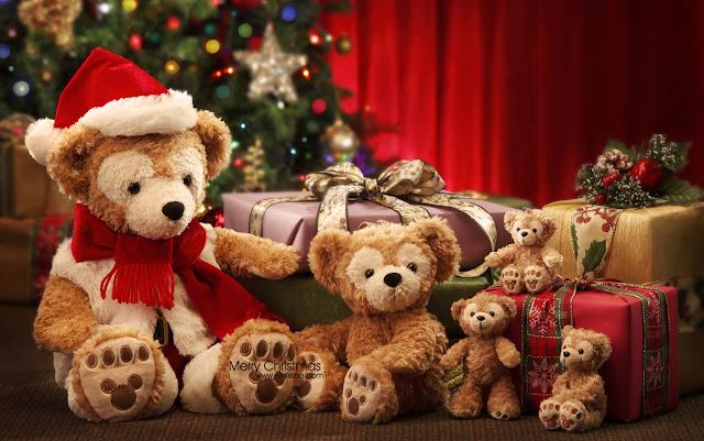 Teddybear Merry Christmas
