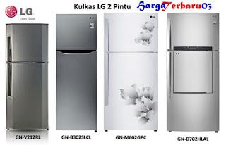 Daftar Harga Kulkas Merk LG 2 Pintu Terbaru 2016