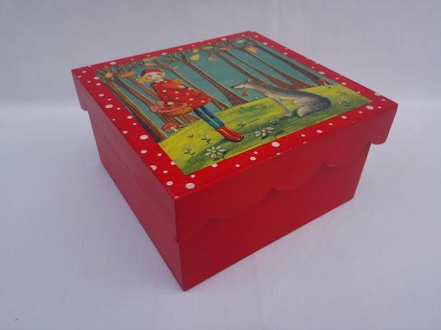 Caja-decoupage-Caperucita-Roja