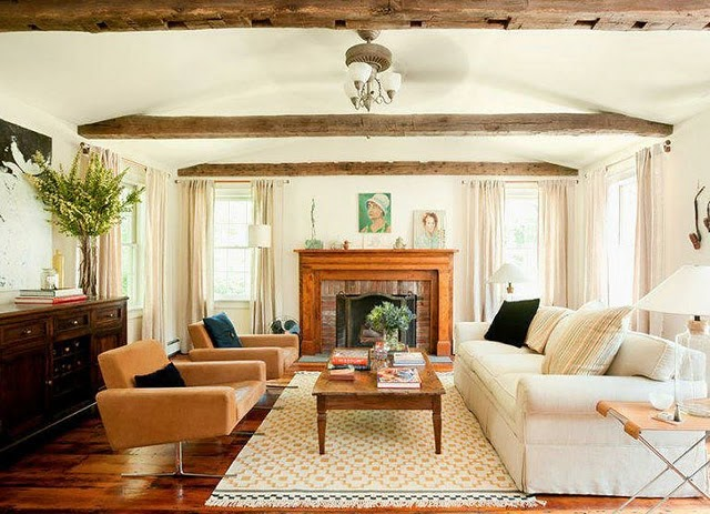 Daly designs mix and match - Living room ceiling beams ...