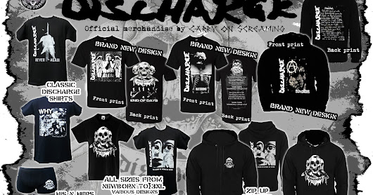 DISCHARGE OFFICIAL MERCHANDISE