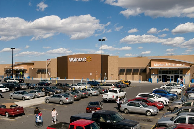 Loja Walmart na Califórnia