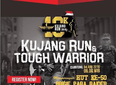 Kujang Run n Tough Warrior 2016 10K Jakarta, Cijantung Brigif Linud 17 kujang I