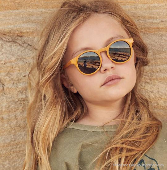 sustainable sunglasses for girls