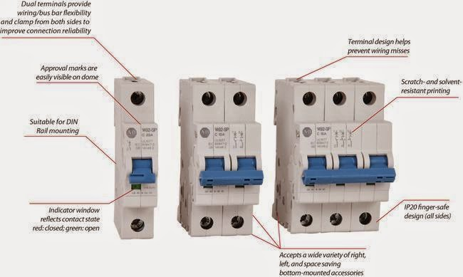 Electrical Engineering World: Construction of Practical Miniature Circuit Breaker