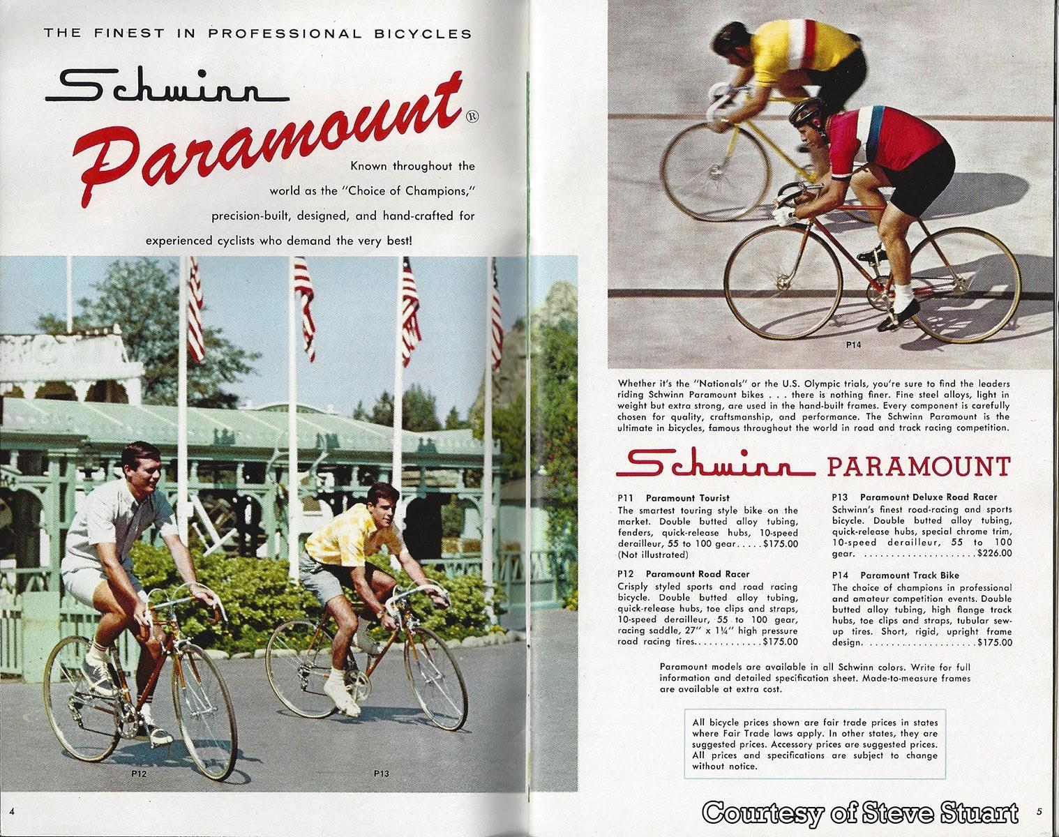 GORILLAS DON'T BLOG: 1966 Schwinn Bicycle Catalog - Part 1