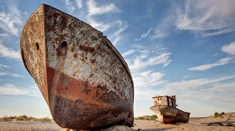 The Aral Sea Natural Attraction