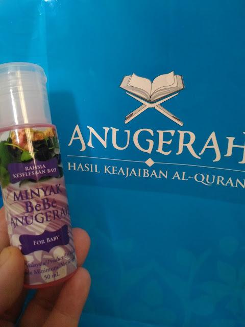 Ardani Selesa Dengan MINYAK BEBE ANUGERAH WELLNESS