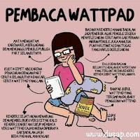 Pembaca wattpad