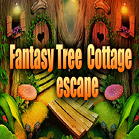 AvmGames Fantasy Tree Cottage Escape