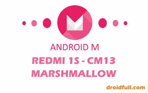 [REDMI 1S] CM13™ MARSHMALLOW CUSTOM ROM R22 BASED ON 6.0.1 BY ARMANI DEVS [16/03/2016] [NEW]