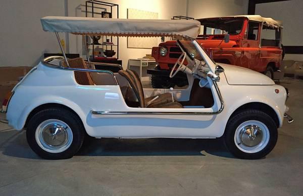 1971 Fiat Jolly Beach Car For Sale