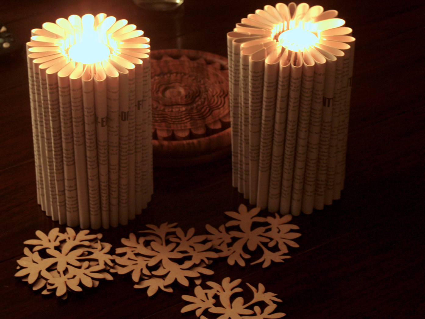Freshlyfound.com: Book Paper Candles