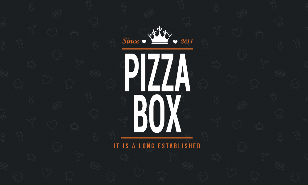 Pizza Menu Card Design