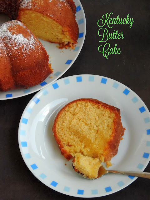Spongy Kentucky Butter Cake, Kentucky Butter Cake