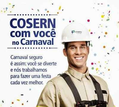 Resultado de imagem para Cosern para cuidados com rede elétrica durante o Carnaval