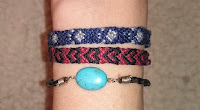 DIY Friendship Bracelets Cat Paw Pattern