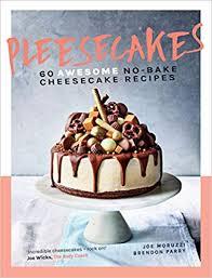 Um livro de receitas de cheesecake irreverente, divertido, incrivelmente apelativo, pelo aspecto e pelos sabores.