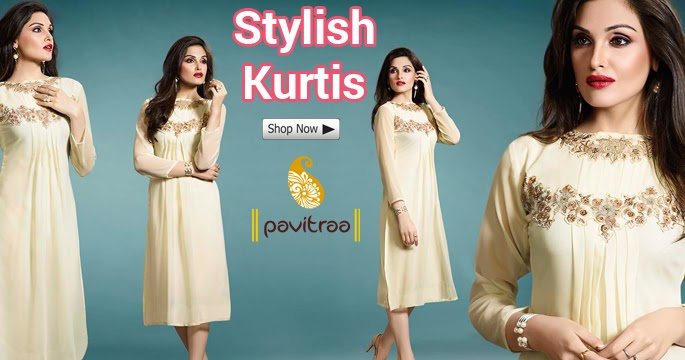 New Fashion Style Of Designer Party Wear Kurtis In Western Look Women Clothing Online Store
