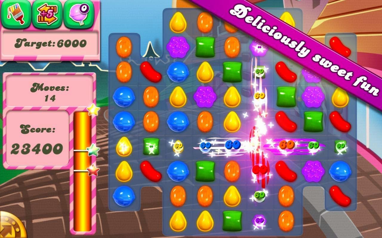 تحميل لعبة كاندى كراش 2014 للكمبيوتر والاندرويد Download Candy Crush