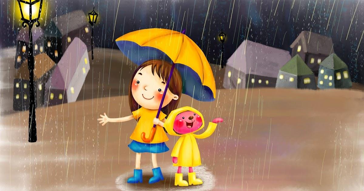 Gambar Hujan Lebat Malam Hari