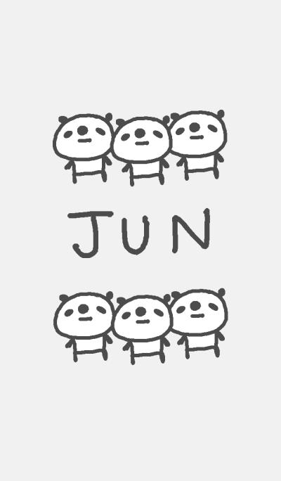 Jun cute panda theme!