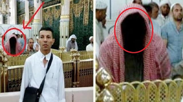 Coba Perhatikan Foto Jamaah Haji Asal Mesir di Masjid Nabawi Ini !! Inilah Penjelasannya, Jadi Tambah Bikin Merinding !!