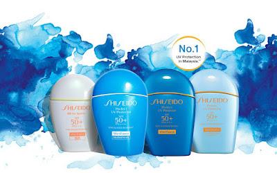 Shiseido Malaysia Free 3-Day Suncare Sample Trial Kit