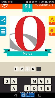 Iconica Italia Pop Logo Quiz soluzione pacchetto 6 livelli 81-100