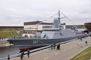 "Korvet Kelas Karakurt Project 22800 ""Odintsovo"""