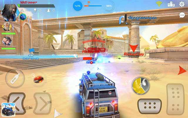 Download Overload: Multiplayer Battle Car Shooting APK News