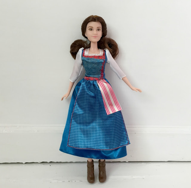 Belle Village dress doll