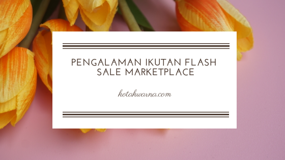 Flash sale, belanja online, marketplace