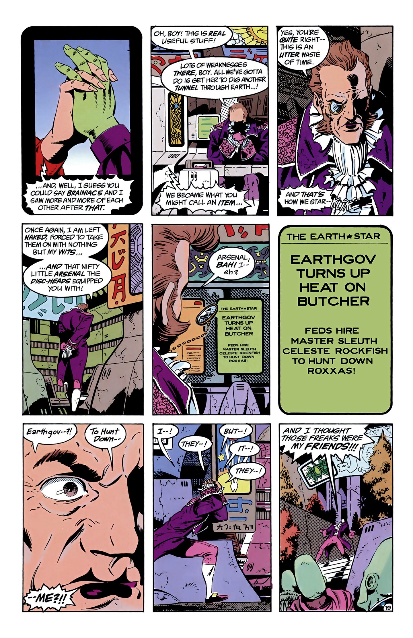 Legion of Super-Heroes (1989) 9 Page 19