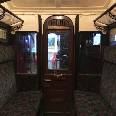 Metropolitan Railway carriage at London Transport Museum