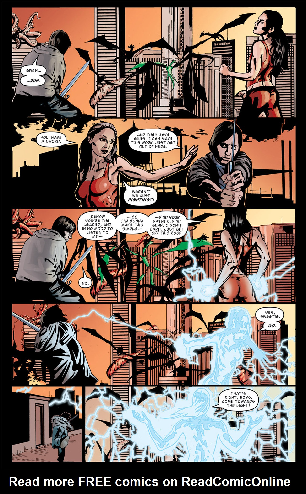 Read online Angel: After The Fall comic -  Issue #13 - 11