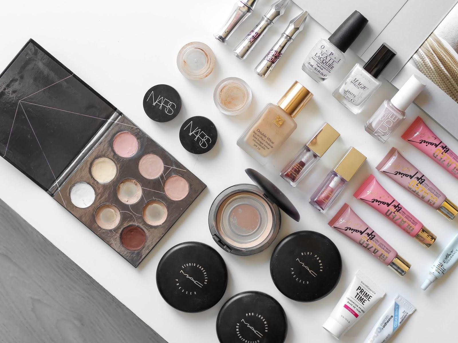 spotřebováno dekorativní kosmetika blog