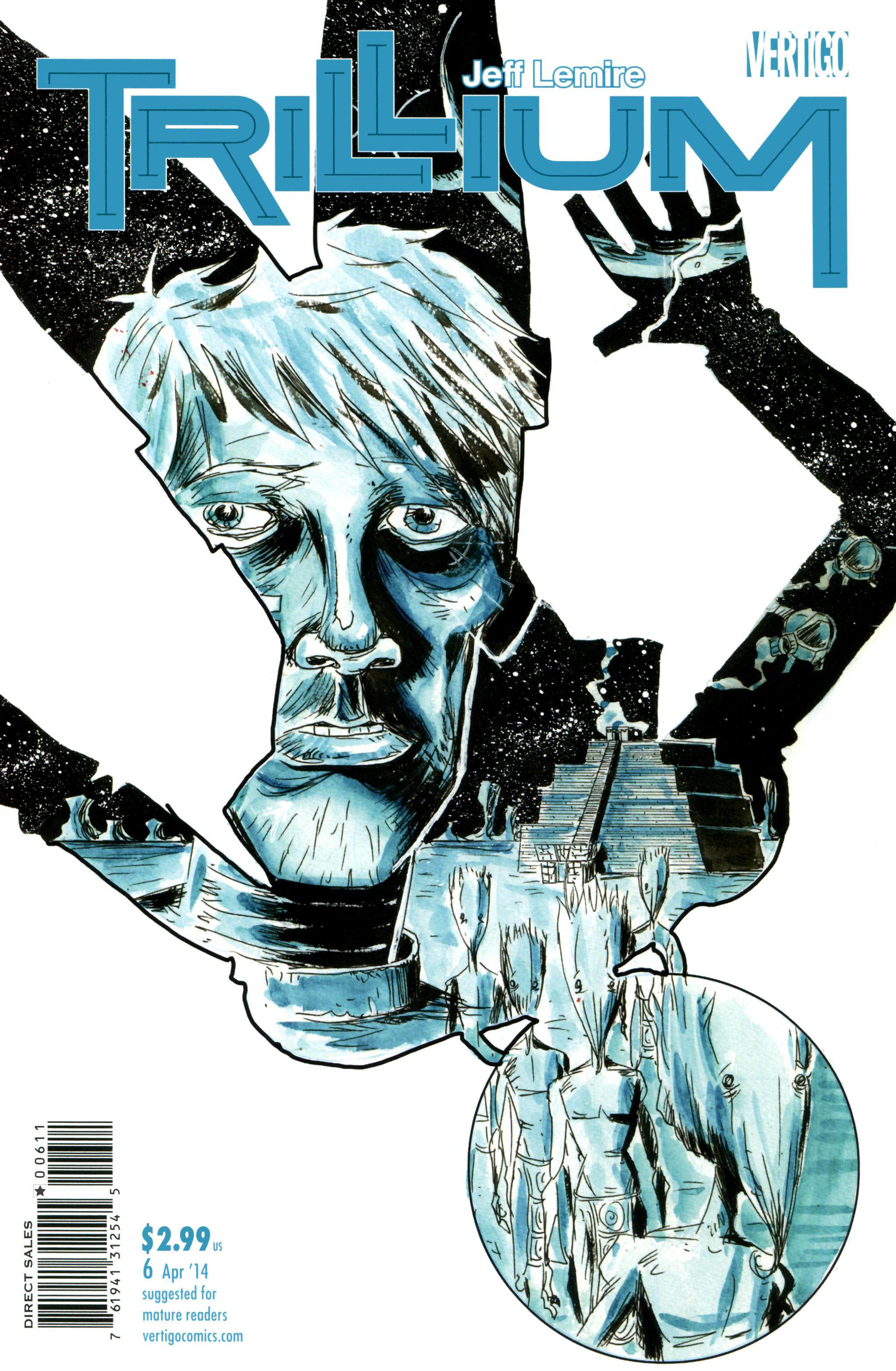 Read online Trillium comic -  Issue #6 - 1