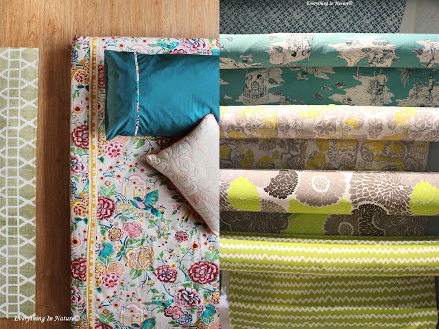 Fabric home decor - everything in nature