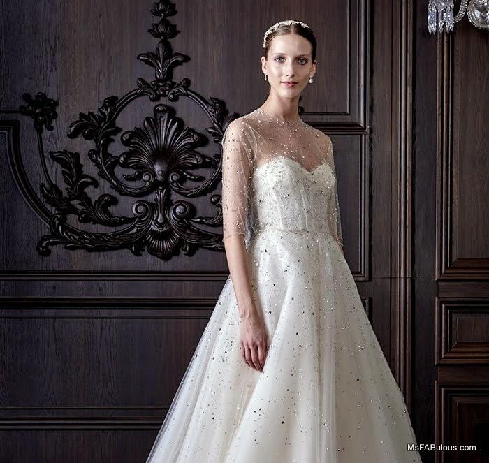 monique lhuillier ss16 bride