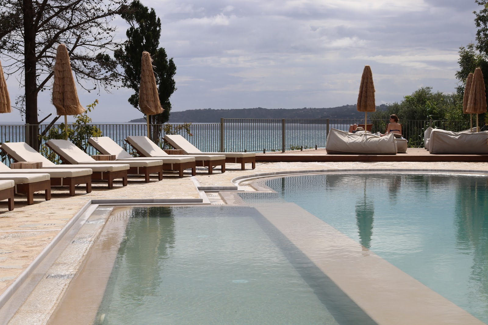 turquoise pool, F Zeen Resort, Unique Villas, Kefalonia