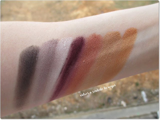 Maquillaje Low Cost: Swatches de las Sombras de Ojos de Yes Love