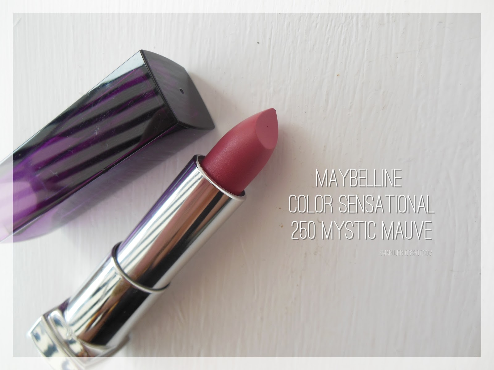Warta uwagi: Maybelline –Color Sensational nr 250 Mystic Mauve