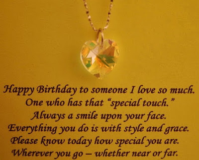 Happy Birthday wishes quotes for husband: happy birthday to someone i love so much.